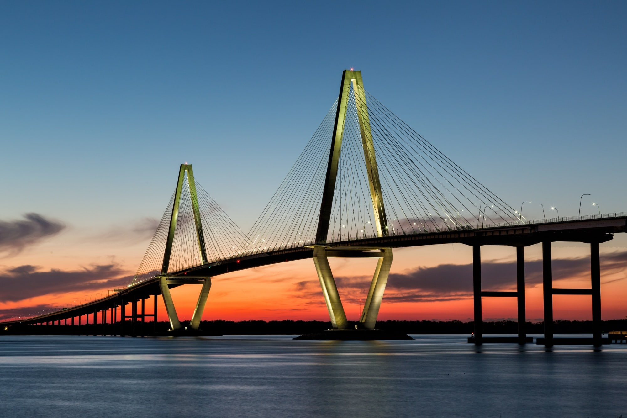 Beautiful Bridge in Charleston