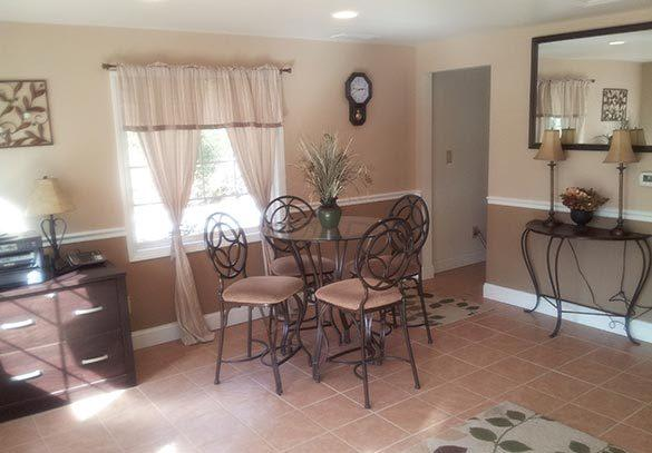 Interior of our Rock Hill apartments