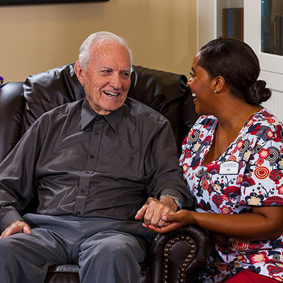 Memory care at senior living in Waverly Inn