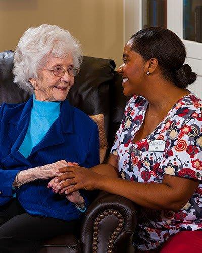 Memory care at Koelsch Communities