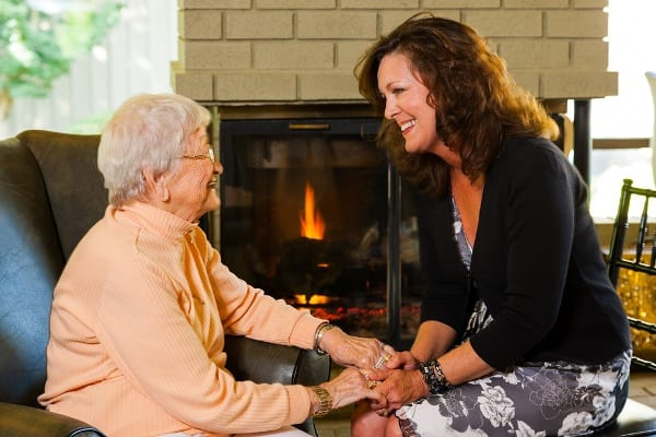 Support groups for family of seniors with memory loss at Amber Creek Memory Care Community
