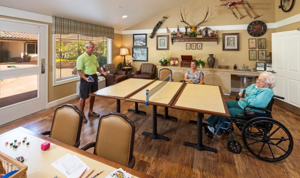 Game Room At Senior Living In Mesa Arizona