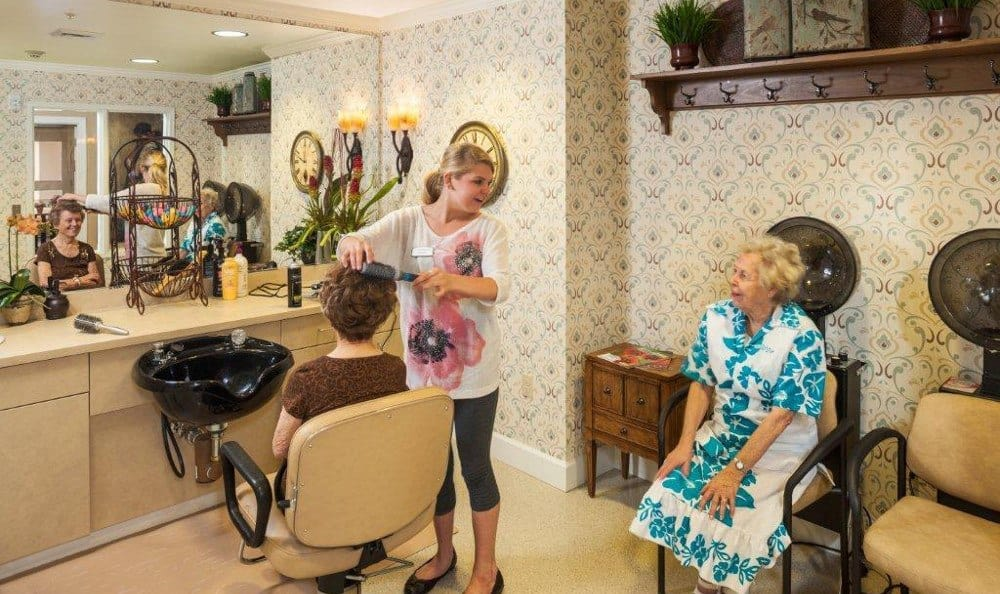 Salon At Senior Living In Mesa Arizona