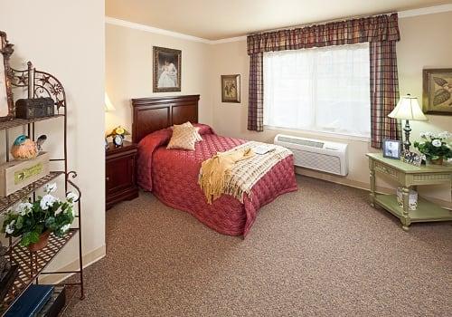 Bedroom At Senior Living In Scottsdale