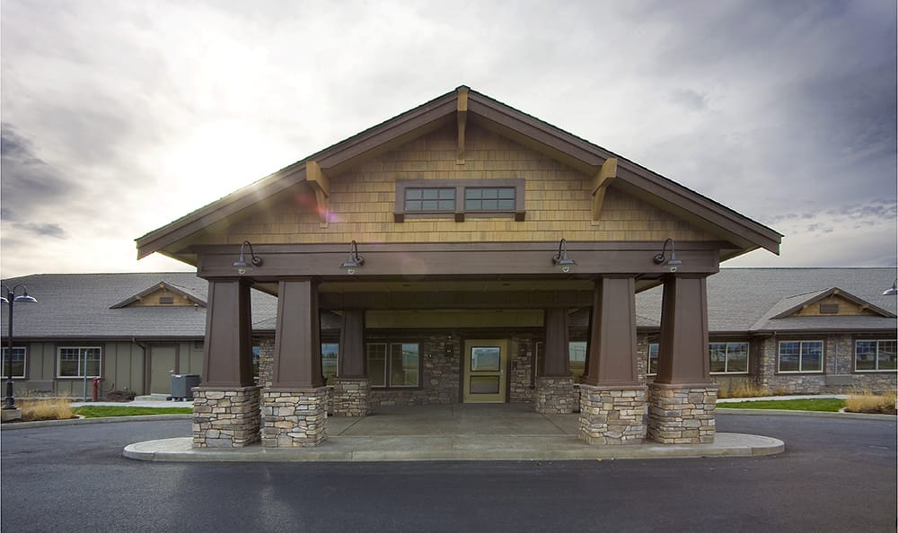 Entrance To Senior Living In Coeur D Alene