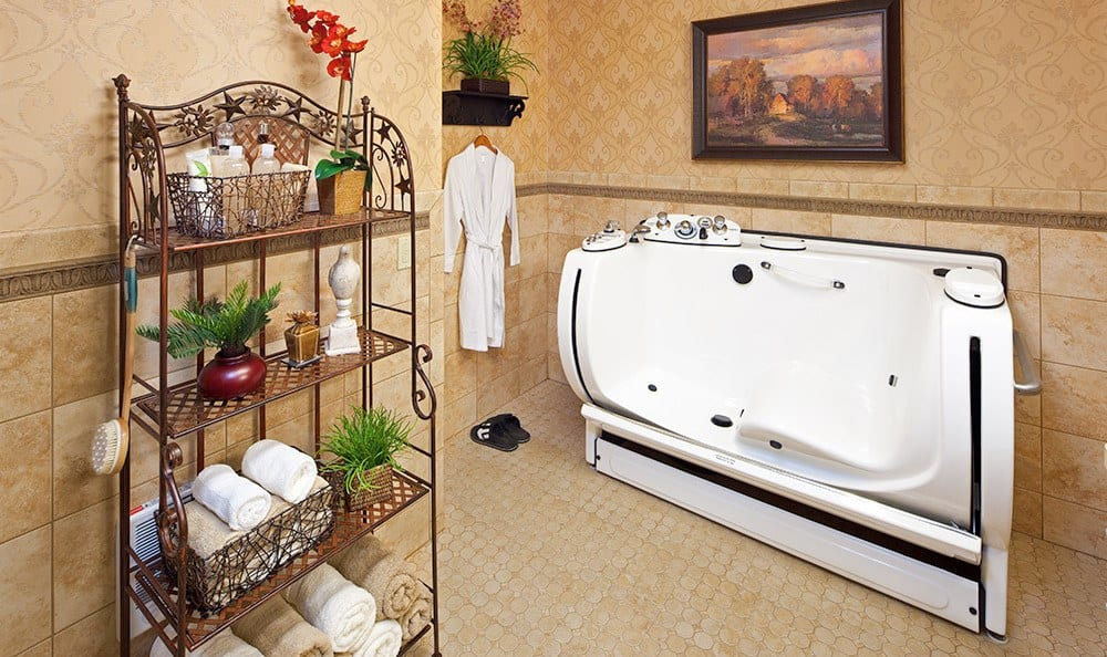 Bozeman Montana Memory Care Accessible Shower