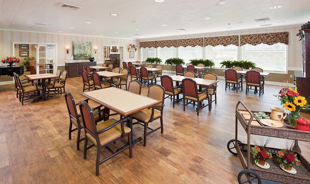 Bozeman Mt Memory Care Dining Hall