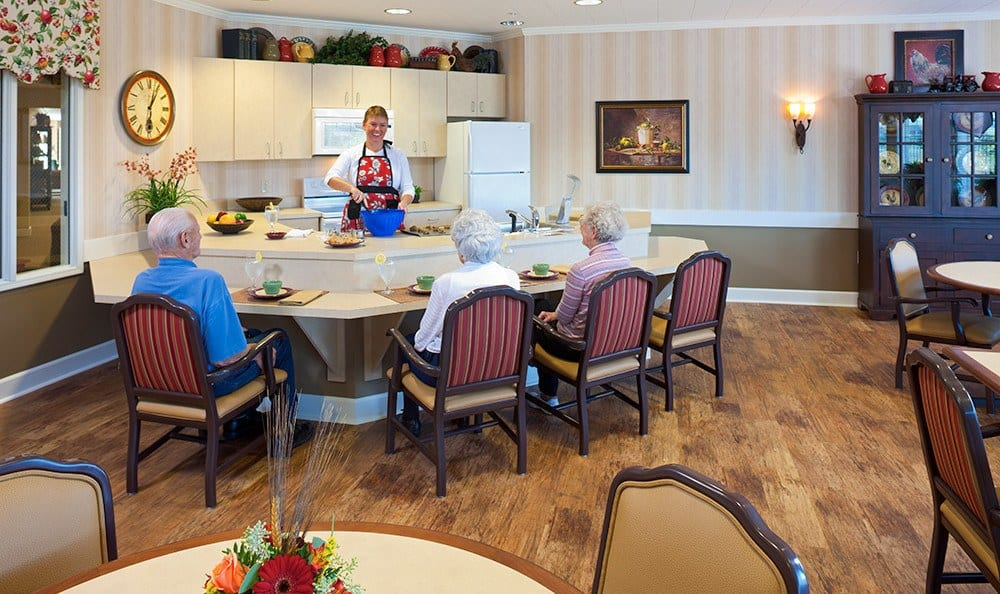 Chef Dining Memory Care In Bozeman Montana