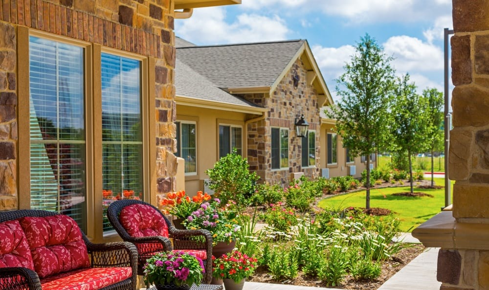 Garden At Senior Living In Plano Tx