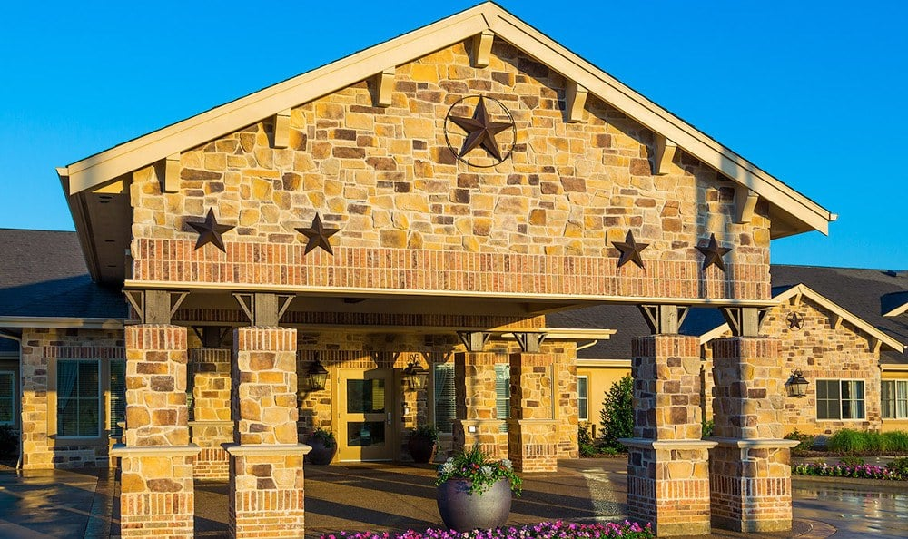 Entrance To Memory Care In Arlington Texas