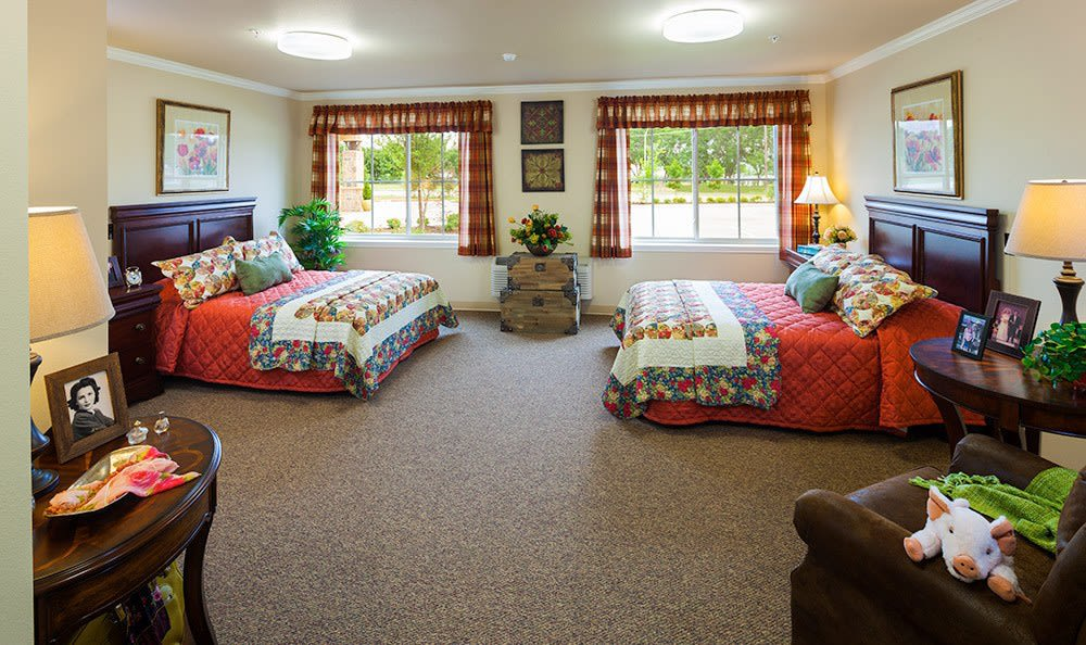 Luxury Bedroom Frisco Texas Memory Care