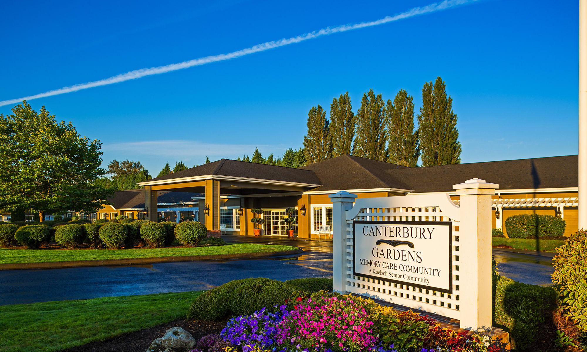 Longview wa senior living canterbury gardens for Washington gardens memory care