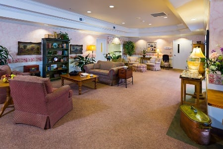 Cozy Rooms At Senior Living In Longview