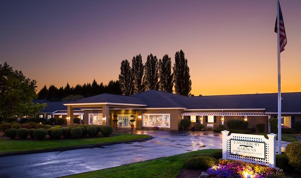 Evening At Senior Living In Longview Washington