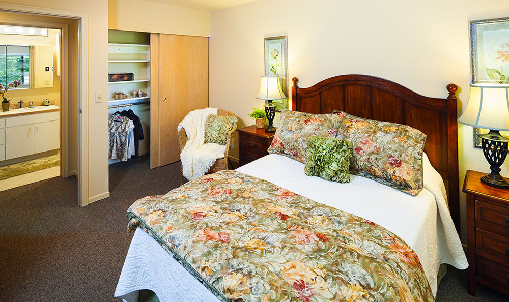 Bedroom At Our Vancouver Senior Living Community