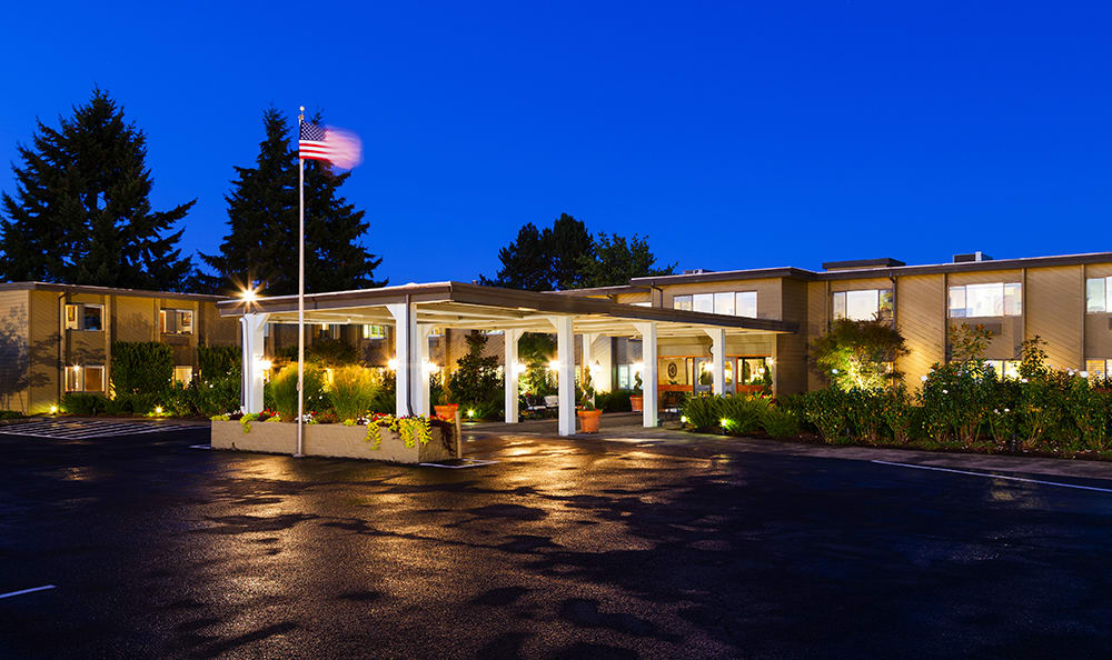 Entrance To Our Vancouver Senior Living Community