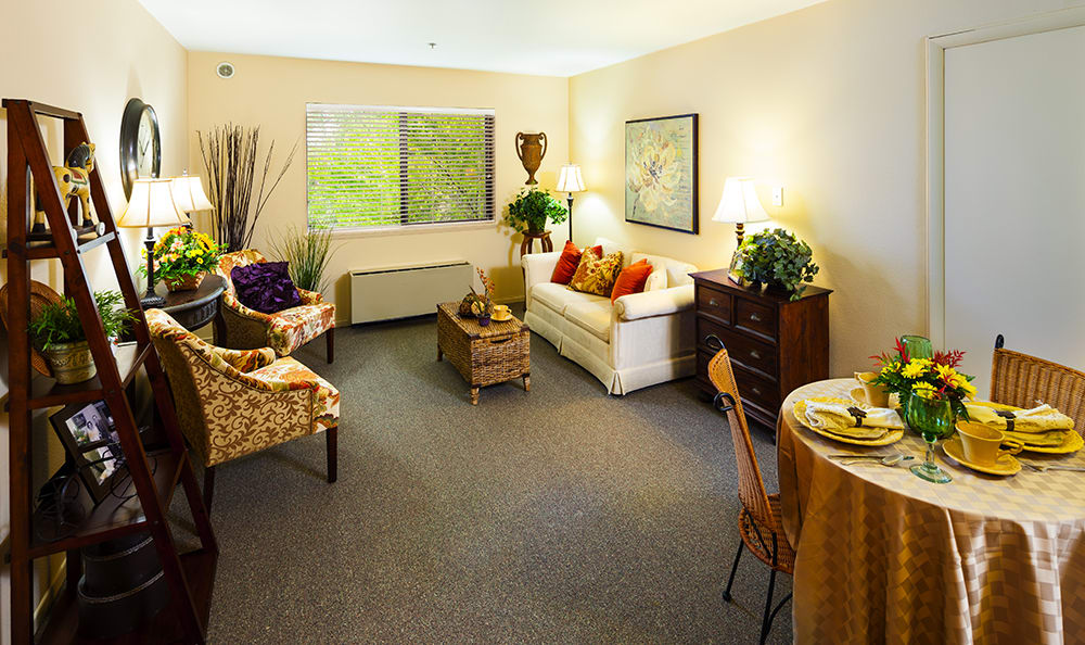 Lobby At Our Vancouver Senior Living Community