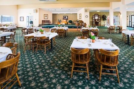 Dining At Senior Living Community In Longview Washington