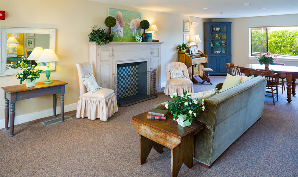 Livingroom At Senior Living In Longview