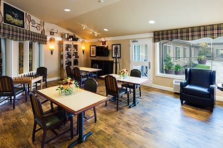 Coffee Room At Our Vancouver Memory Care Community
