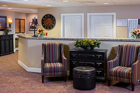 Lobby At Our Vancouver Memory Care Community