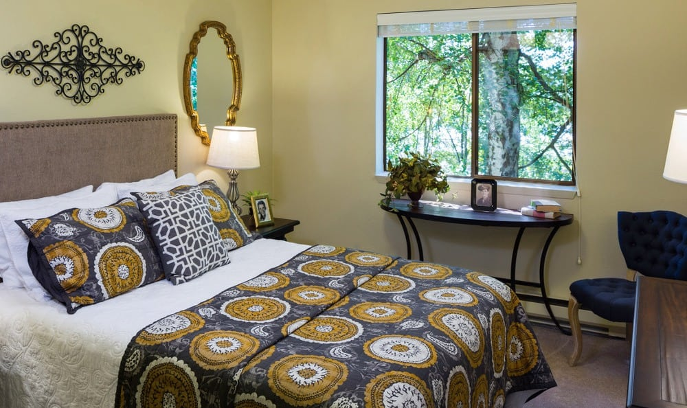 Each bedroom at Madison House is large and comfortable.
