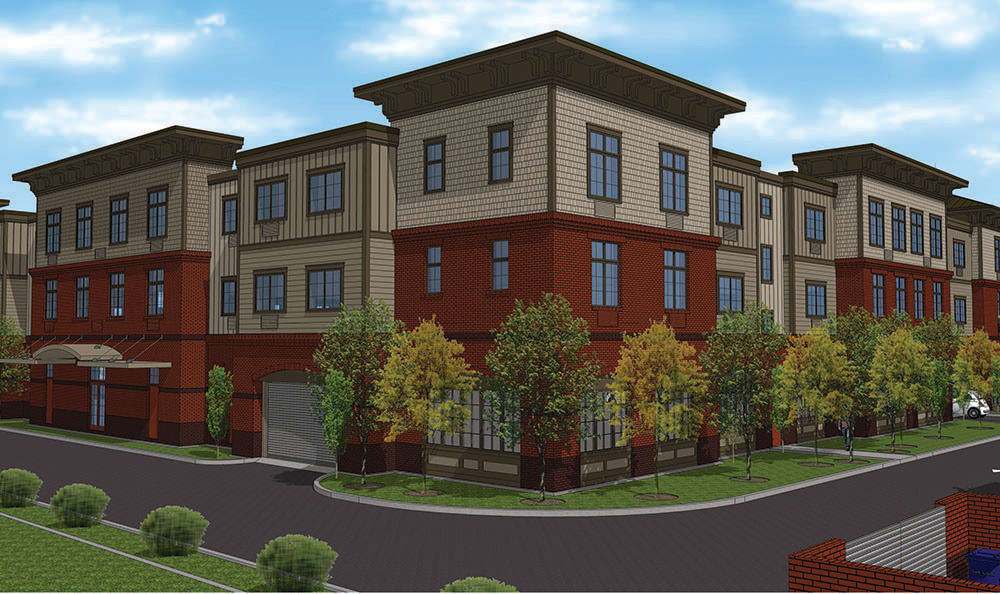 Building At Our Senior Living Community In Edmonds