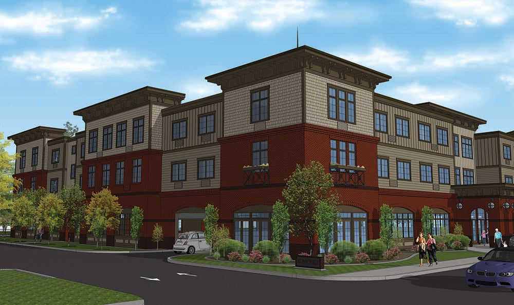 Final Rendering Of Our Senior Living Community In Edmonds
