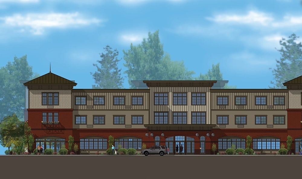Rendering of the facility in Edmonds, WA