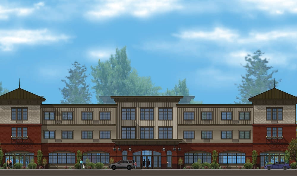 View Of Our Senior Living Community In Edmonds