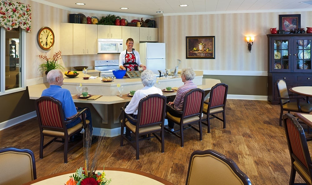 Bistro At Our Northbrook Illinois Senior Living Community