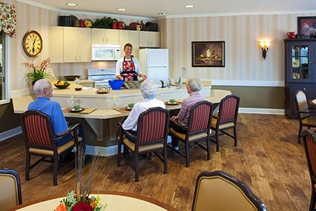 Bistro At Waverly Inn Memory Care Community Senior Living Community