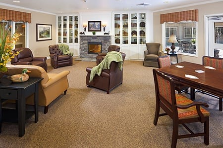 Game Room At Our Northbrook Senior Living Community