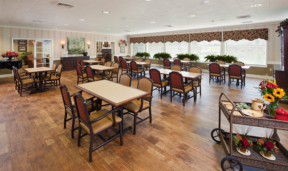 Dining At Our Bloomingdale Senior Living Community