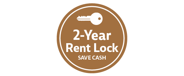 2 year rent lock