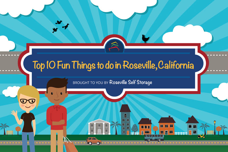 Top 10 Fun Things to do in Roseville Self Storage.