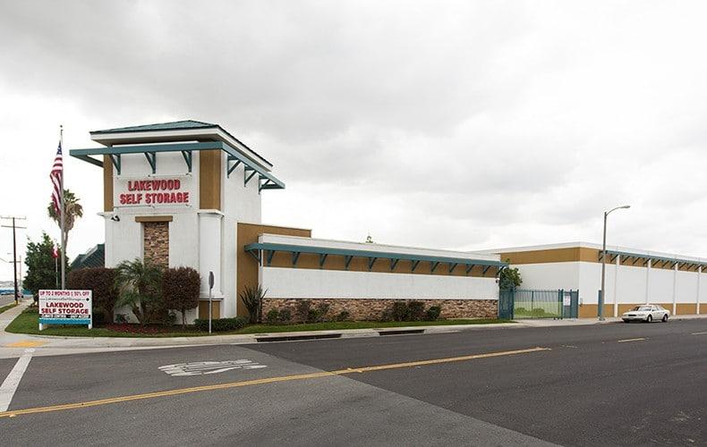 Lakewood Self Storage building