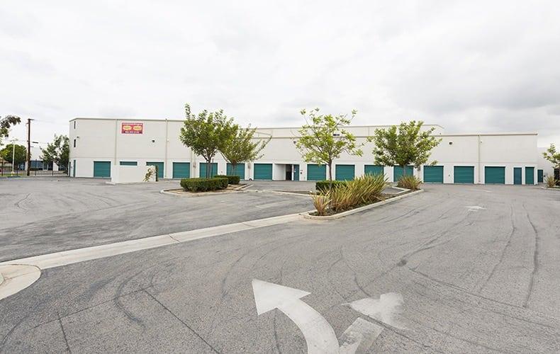 Drive way at storage facility in Lakewood, CA