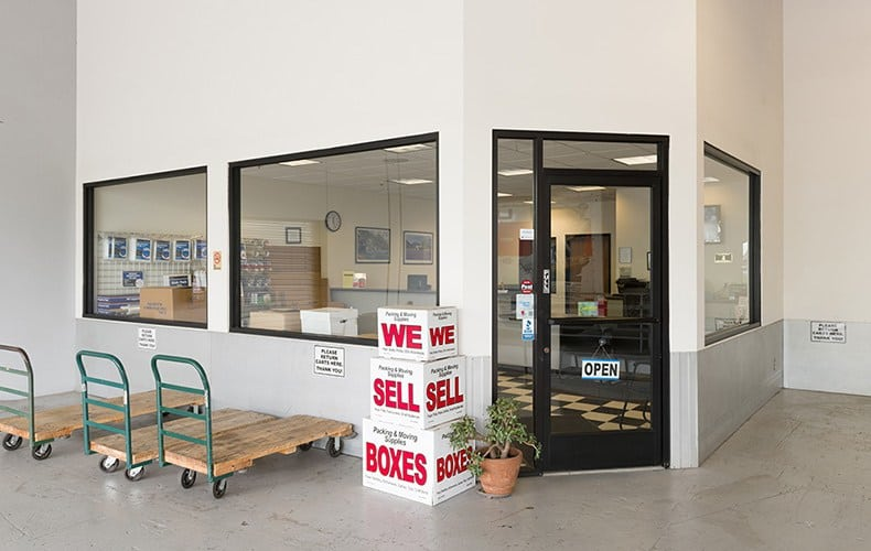 Office at storage facility in Lakewood, CA.
