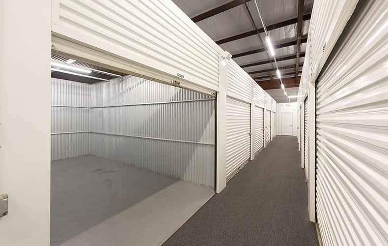 Variety of units at storage facility in Lakewood, CA.