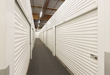 You'll find we keep our storage aisles - inside and outside - clean and clear of debris here at West Sacramento Self Storage.