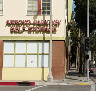 Arroyo Parkway Self Storage Exterior Signage