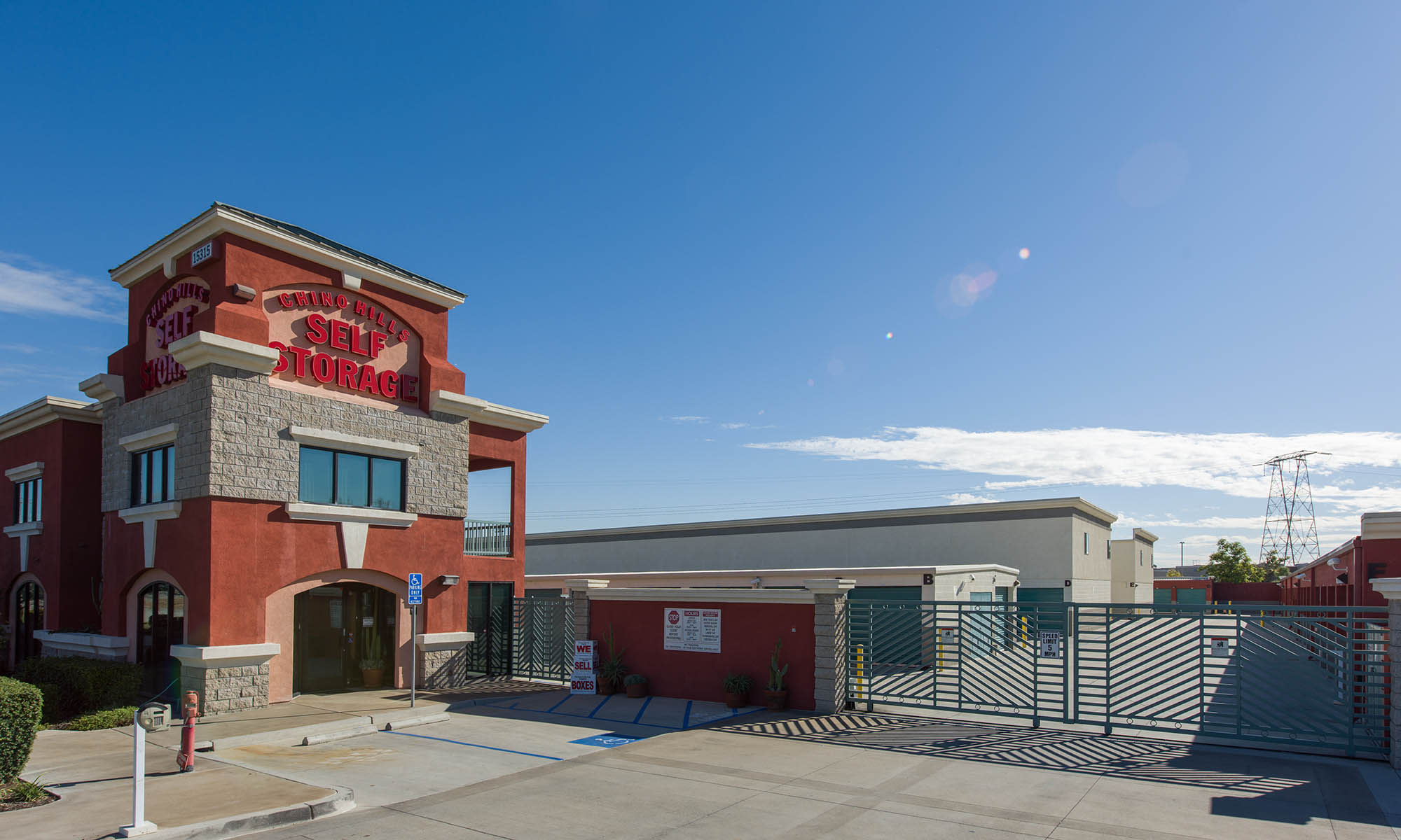 Chino Hills Self Storage - Home of the 1st Year Price Guarantee!