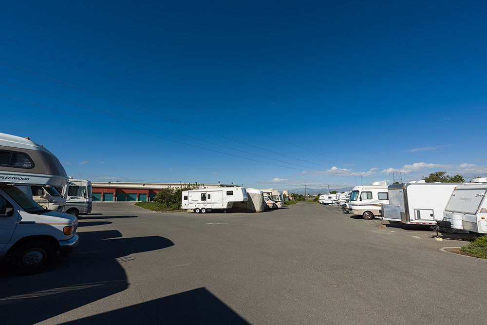 Store RVs at Chino Hills Self Storage in Chino Hills, CA.