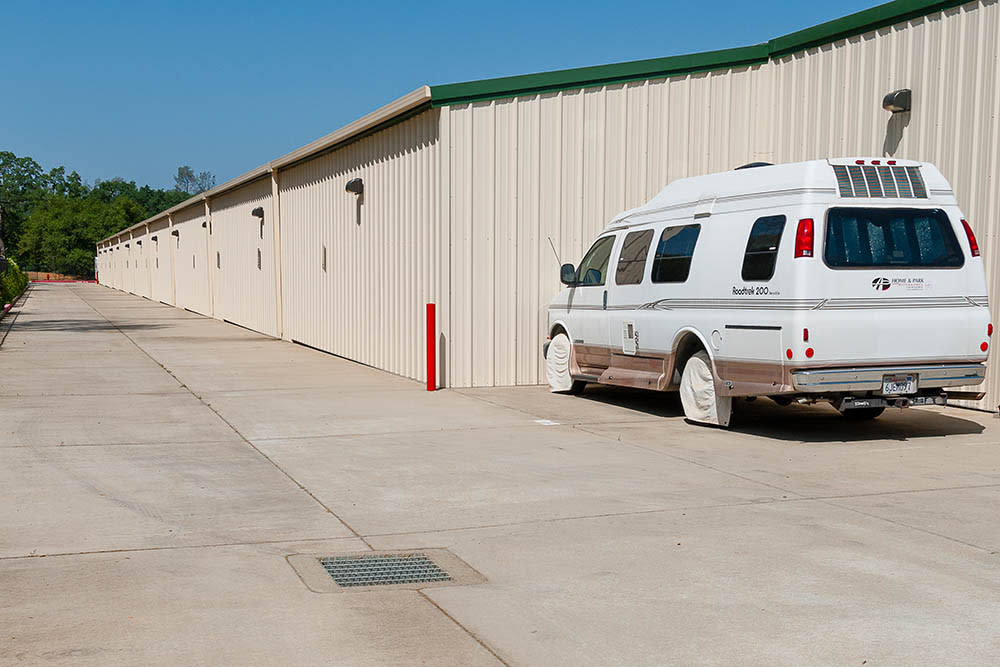 Vehicle storage at a facility in El Dorado Hills, CA