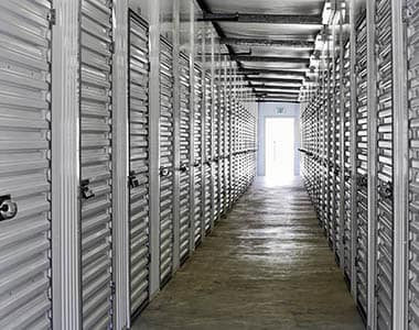 You'll find we keep our storage aisles - inside and outside - clean and clear of debris here at Mount Hermon Road Self Storage.