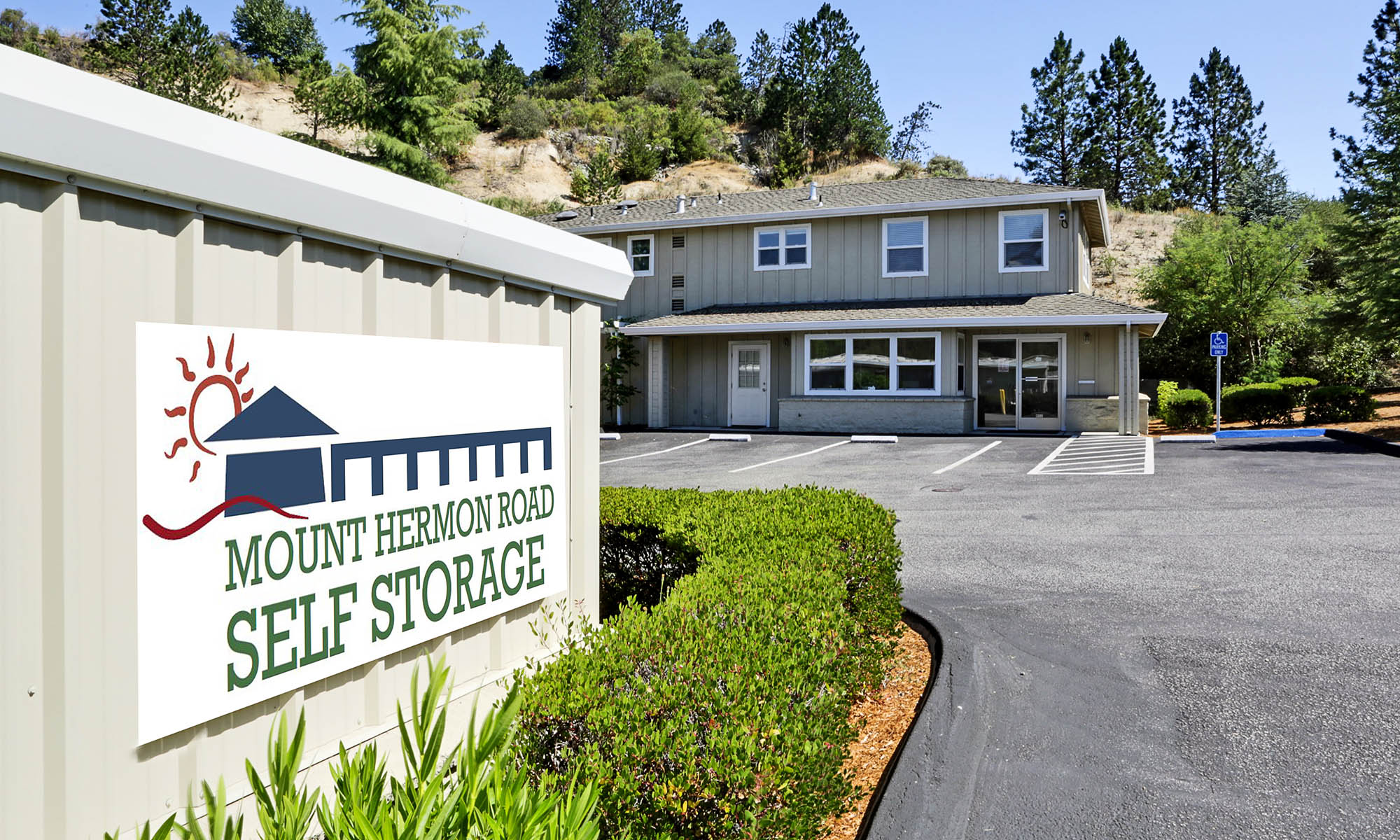 Mount Hermon Road Self Storage - Home of the 1st Year Price Guarantee!