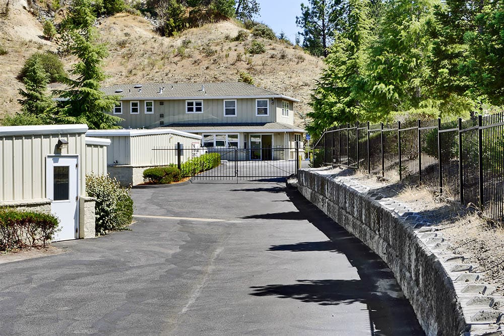 Secure access at storage facility in Scotts Valley, CA.