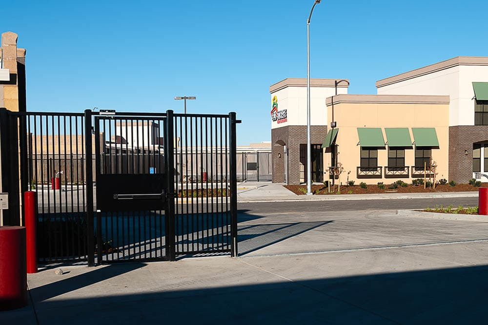 Secure storage facility in West Sacramento, CA