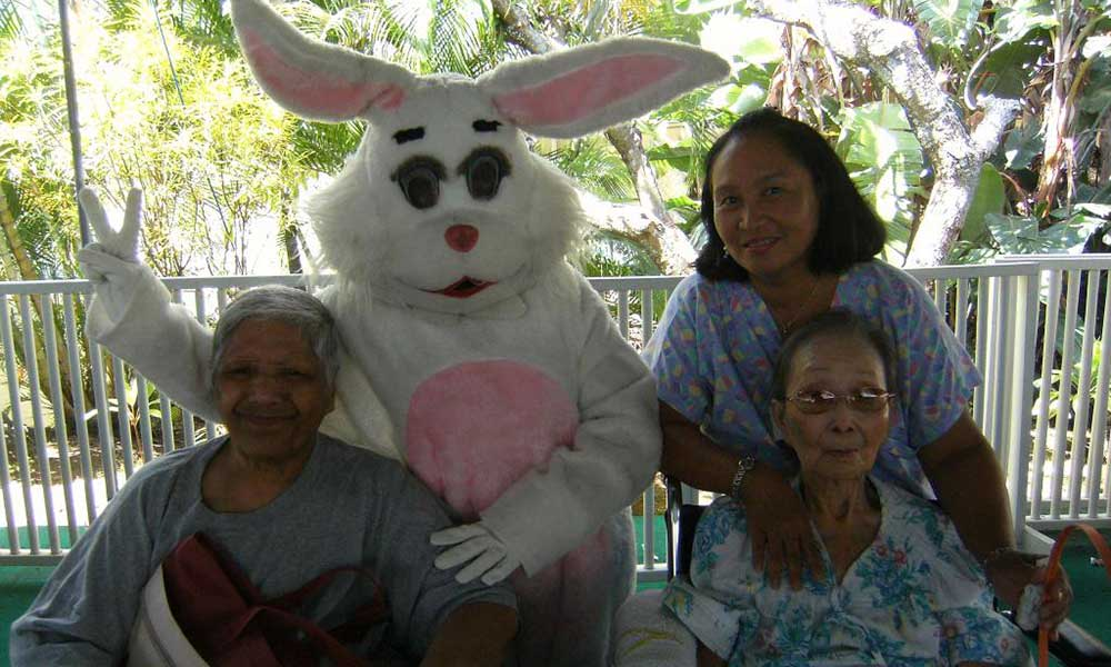Happy Easter at The Care Center of Honolulu